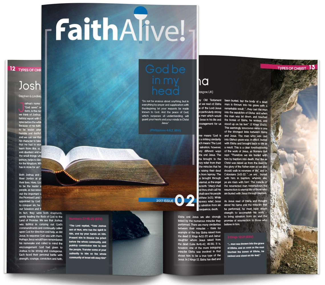 Faith Alive! magazine recent issue