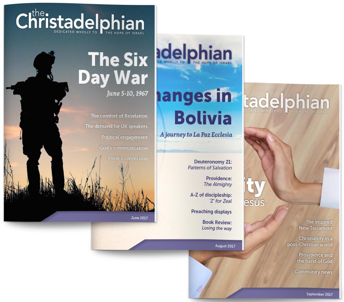 The Christadelphian magazine back issues
